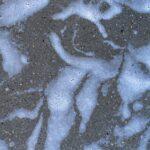 Foam on concrete