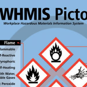 WHMIS pictograms help people remember safety